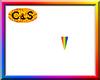 C&S Rainbow Quote Sign