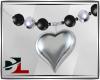 [DL]neclace heart silver
