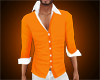 slim shirt orange