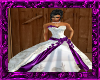 Crystal wedding purple