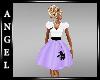ANG~Poodle Skirt -Purple