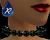 {R} Emerald Choker