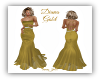Diana Gold Gown