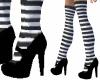 Black Stockings MJ's