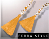 ~F~Summer Earrings Yel
