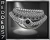 Silver Black Diamond Nk