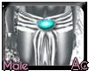 Ac~ Cyborg metal Skirt M