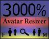 Any Avatar Size,3000%
