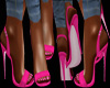 PINK SLING BACK SHOES