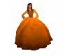pumpkin dress costume
