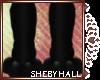 [SH] Black F Paws