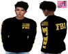 FBI Flags Long Sleeve