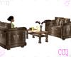 [CCQ]C:Double Chair Set