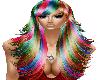 (MA)Kelsey Rainbow Hair