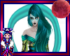 Turquoise Drape