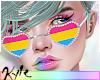Pansexual Pride Glasses
