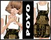 Overalls Skirt-Camo