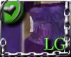 Purple Short Dress LG