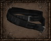 Ebony Medieval Belt