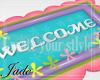 Baby Welcome rug §J