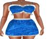 Blue Sadie Short Outfit