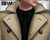 Beige Winter Suit Trench