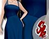 Dark Blue Hanfu Gown