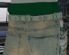 faded grn jeans