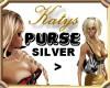 KATYS Purse silver