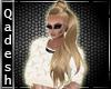!Q! Cassie 8 Choco Blond