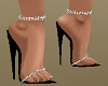 Black Shoes w Anklets