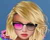 Glasses Pink n Black