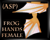 ASP) Anyskin Frog HandsF