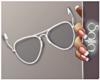 S! White Glasses