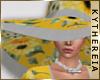 K  Sunflower Summer Hat