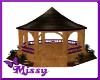 purple wedding gazebou