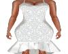 Belle  White Lace Dress