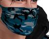 Blue Camo Mask