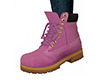 Light Pink Lace Boots F