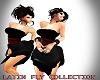 A!Latin Dress Blk & Red