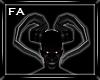 (FA) PVC Demon Horns