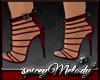 Eve Plum Strappy Heels