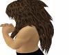 leopard furry hair