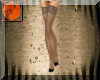 Taupe heels & stockings