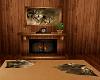 Wolf Club Fireplace