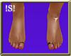 !S! Beach Feet Flat