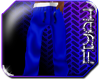 [Fiyah]Blue/Silver Pjs