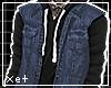 [xet] denim+hoodie