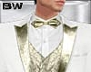 White Gold Wedding Tux