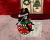 Romantic christmas Kiss